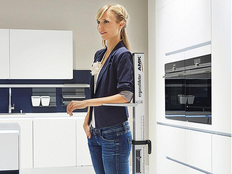 ergonomische küche Arbeitshöhe