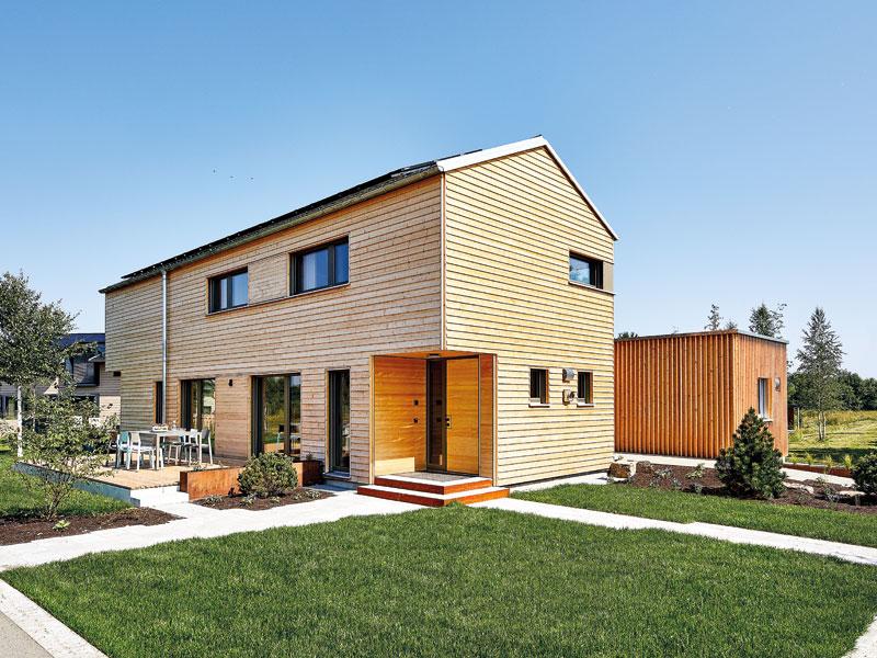 Hausbau Trends 2021 Lichtblick Baufritz aussen