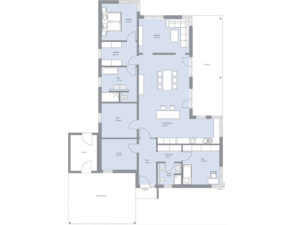 Musterhaus Haus Ebert von Baumeister-Haus - Grundriss