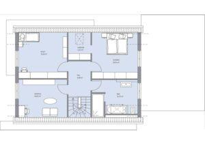 Musterhaus Haus Kramer von Baumeister-Haus - Obergeschoss