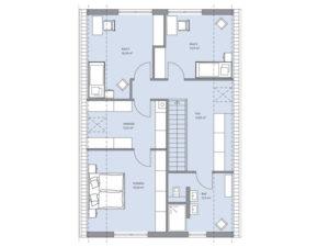 Musterhaus Haus Otten -Baumeister-Haus - Dachgeschoss