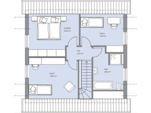 Musterhaus Haus Lutz von Baumeister-Haus - Obergeschoss