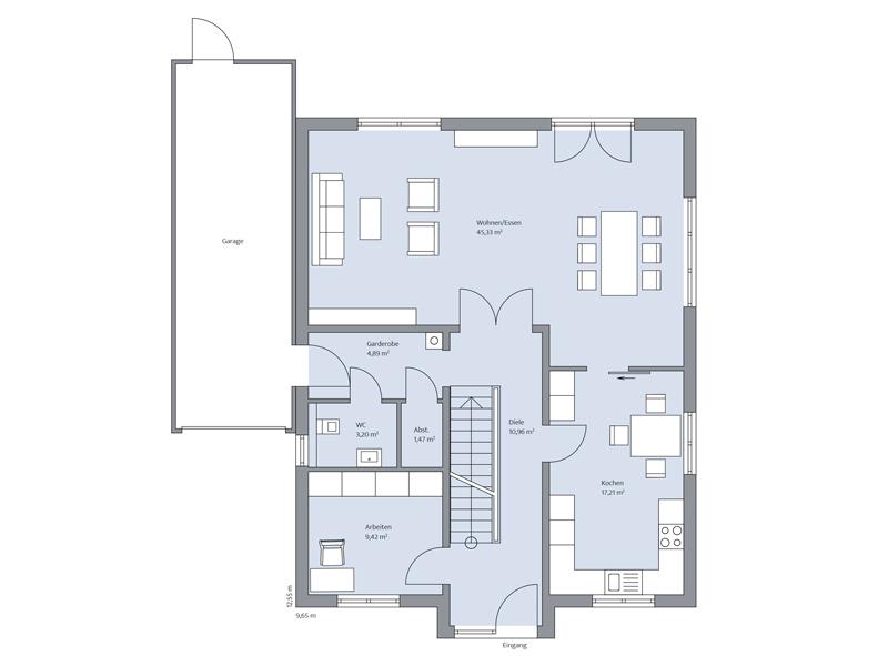 EG Haus Adler von Baumeister-Haus