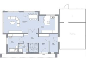 Musterhaus Haus Kramer von Baumeister-Haus - Erdgeschoss