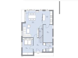 Musterhaus Haus Otten-Baumeister-Haus - Erdgeschoss