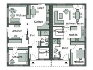 Haus Poing von Schwörerhaus- Erdgeschoss