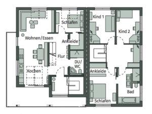 Musterhaus Poing von Schwörerhaus - Dachgeschoss