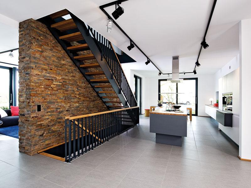 Hausbau Trends 2021 Flur Villa Eiche Heinz von Heiden
