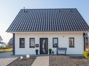 Musterhaus Haus Lutz von Baumeister-Haus -Außenansicht