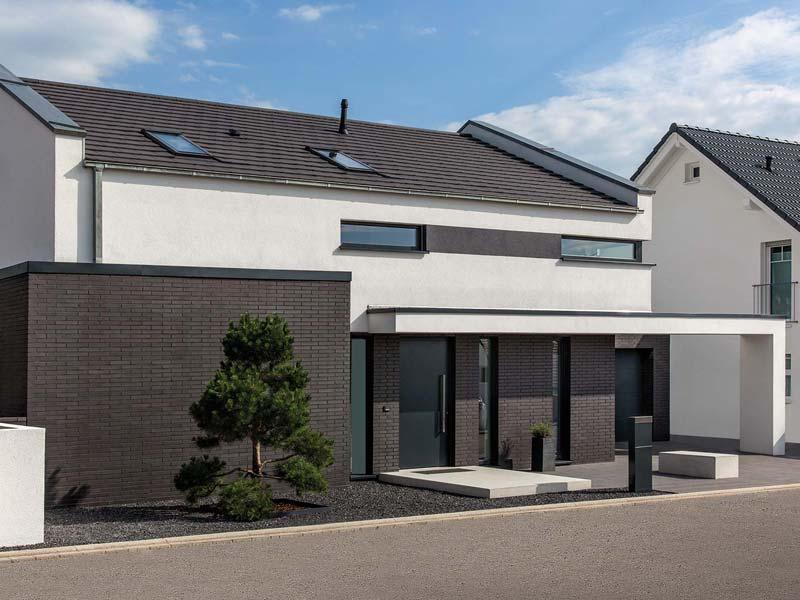 Musterhaus Haus Nowak von Baumeister-Haus -Außenansicht