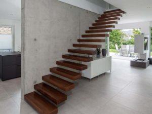 Musterhaus Haus Nowak von Baumeister-Haus - Aufgang Dachgeschoss
