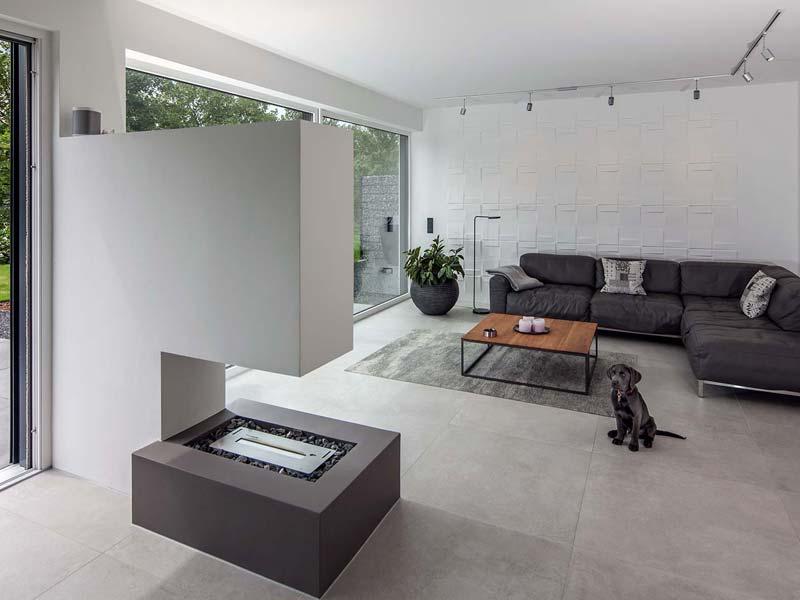 Musterhaus Haus Nowak - Wohnbereich