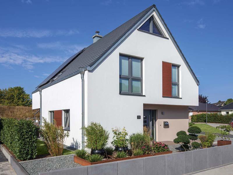 Musterhaus- Haus Otten - Baumeister-Haus - Außenansicht