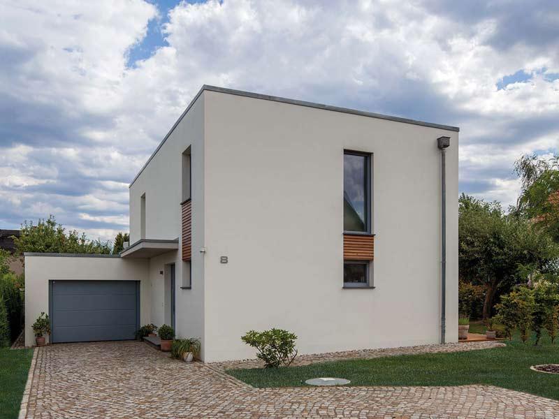 Musterhaus Poschmann von Baumeister-Haus - Außenansicht