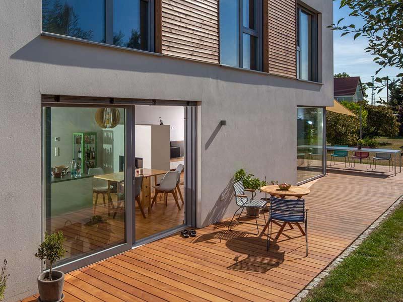 Musterhaus Haus-Poschmann von Baumeister-Haus - Terrasse