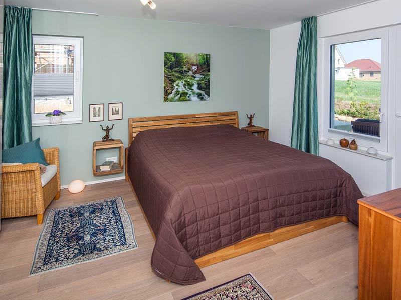 Haus Rahn von Baumeister-Haus. Schlafzimmer
