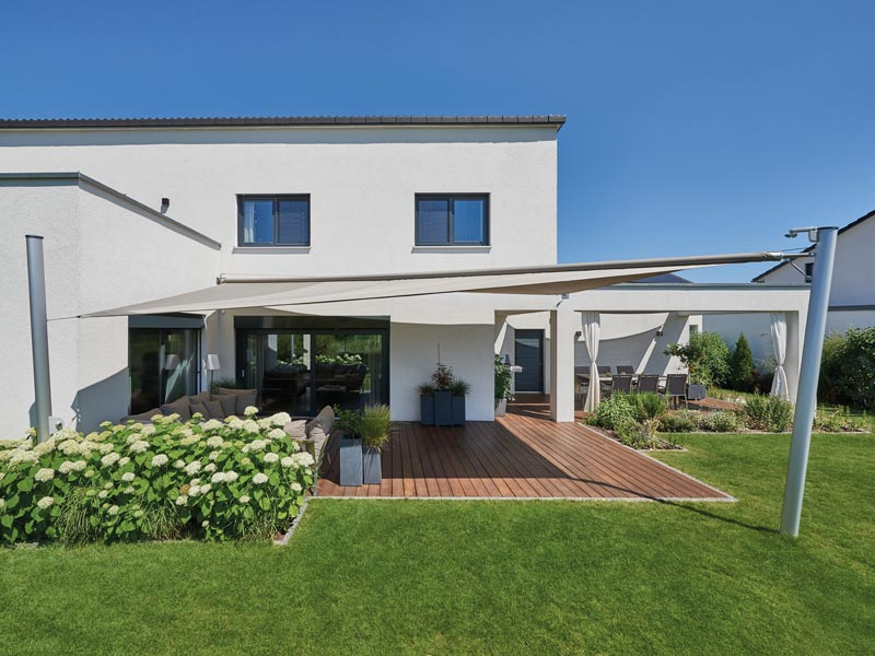 Haus Mahl von Fertighaus Weiss. Terrasse