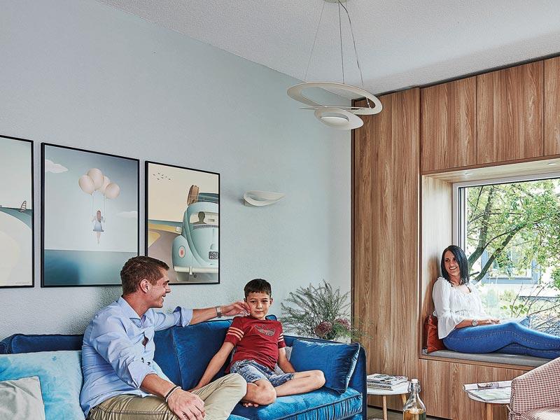 Musterhaus Poing von Schwörerhaus - Wohnen