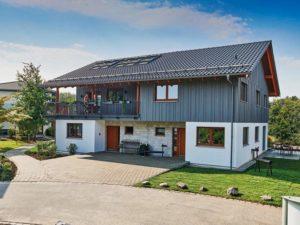 Musterhaus Poing von Schwörerhaus - Aussenansicht