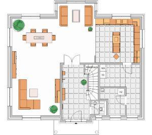 Stattvilla von Elbe-Haus -Erdgeschoss