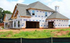 Neues Haus Baustelle