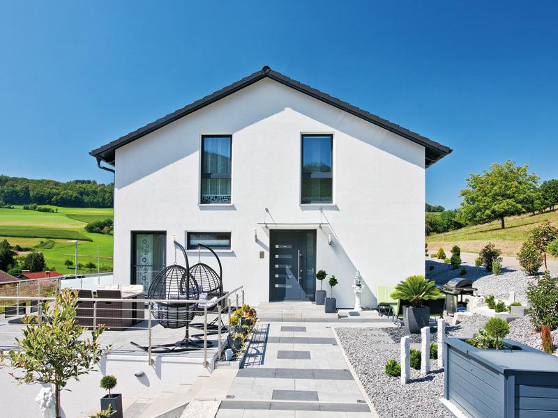 Kundenhaus Polok von Bien-Zenker - Eingang