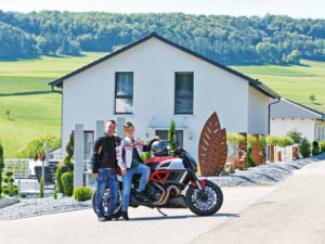Kundenhaus Polok von Bien-Zenker - Giebel