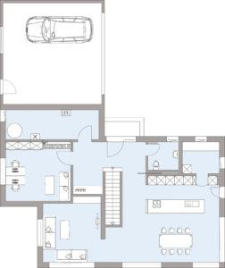 Musterhaus Gruber von Baufritz- Erdgeschoss