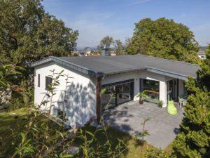 Haus Glasmacher von Baumeister-Haus -Draufsicht