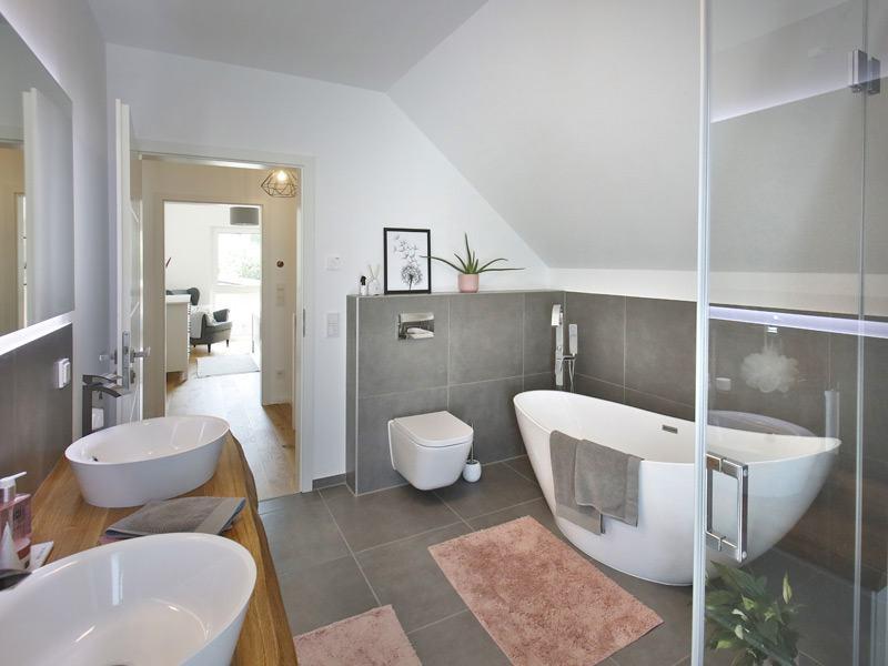 Badezimmer im Haus Family 134