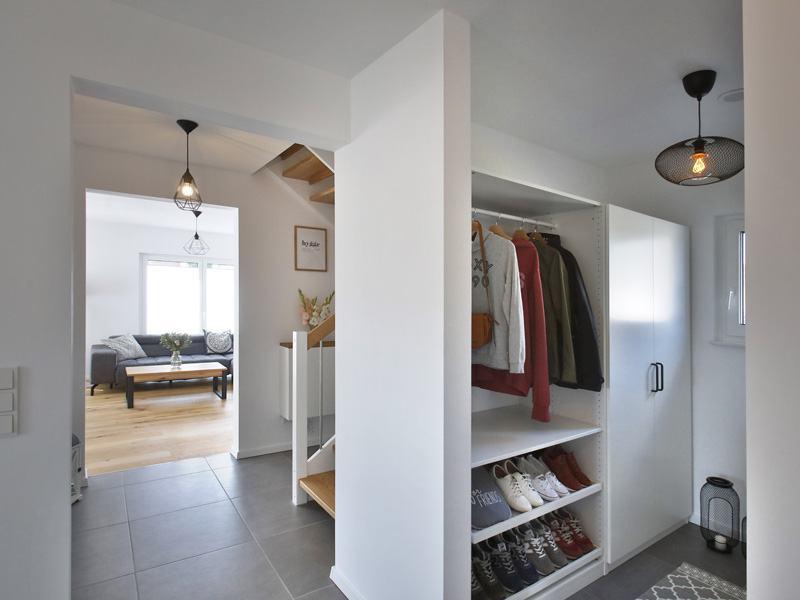 Garderobe im Haus Family 134