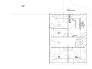 Luxhaus Walmdach 201 - OG