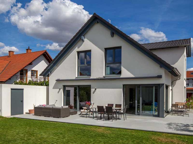 Musterhaus Cronenberg von Baumeister-Haus - Terrasse