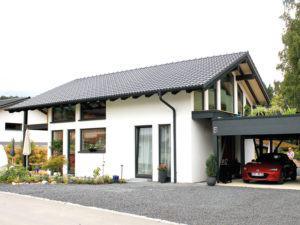 Homestory 824 von Lehner Haus. Außenansicht