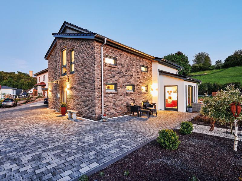 Kundenhaus ProStyle 158 von ProHaus - Garten