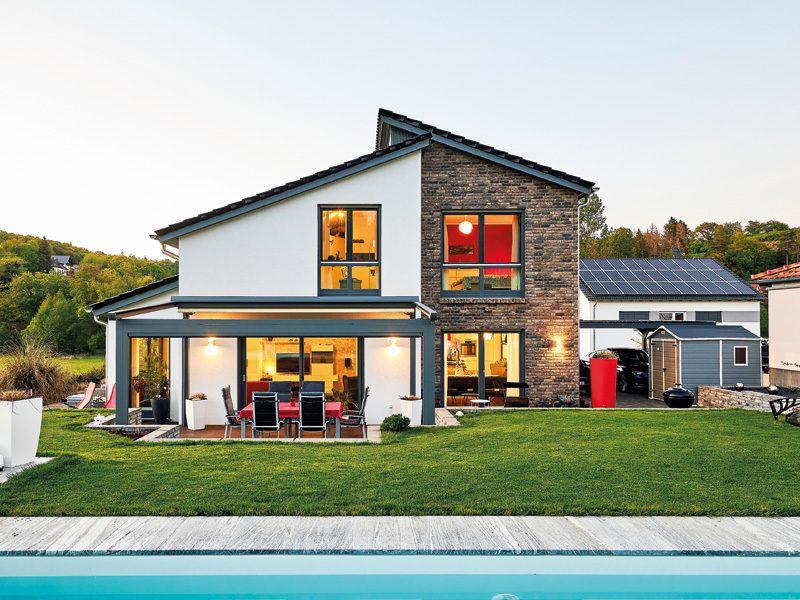 Kunden Haus ProSytle 158 von ProHaus - Außenansicht