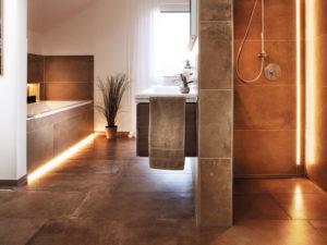 Musterhaus Kopenhagen von Rensch-Haus - Bad