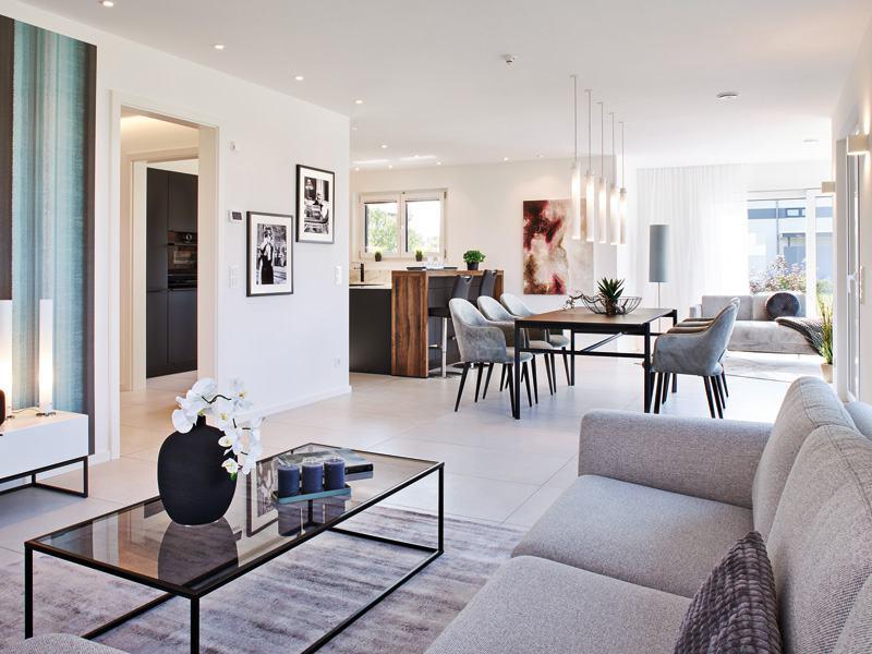 Musterhaus Kopenhagen von Rensch-Haus - Wohnen