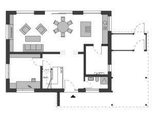 Musterhaus Werder von Schwörer - Haus -Eg