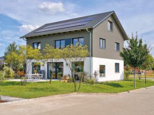 Musterhaus Werder von Schwöerer-Haus -Garten