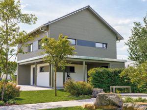 Musterhaus Werder von Schwörer-Haus -Außenansicht