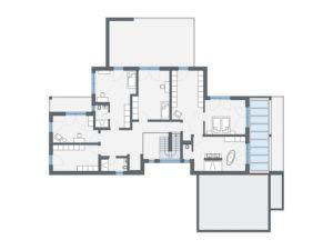 Konzepthaus Larsen - Obergeschoss
