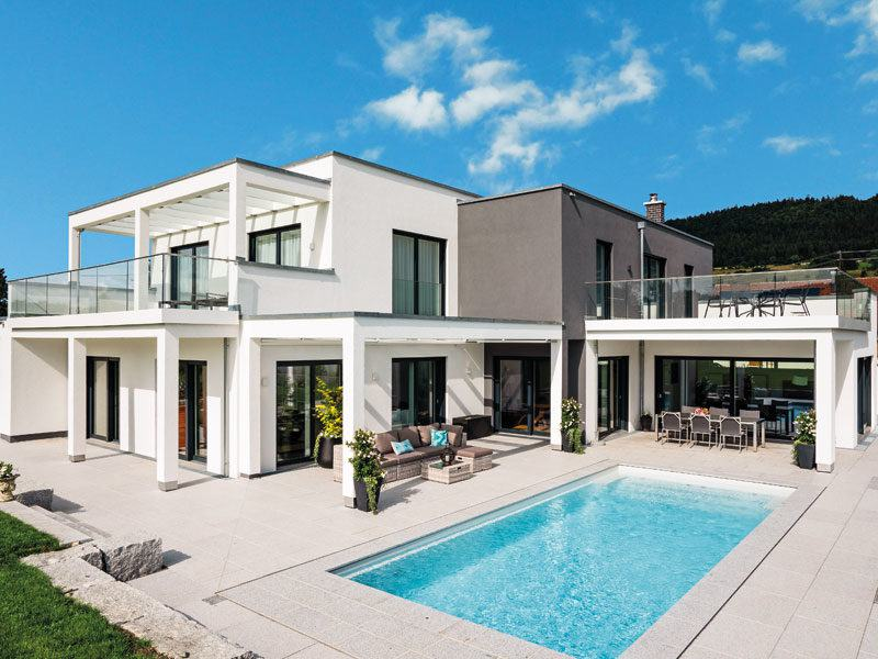 Konzepthaus Larsen - Terrasse