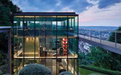 Wohnhaus aus Glas