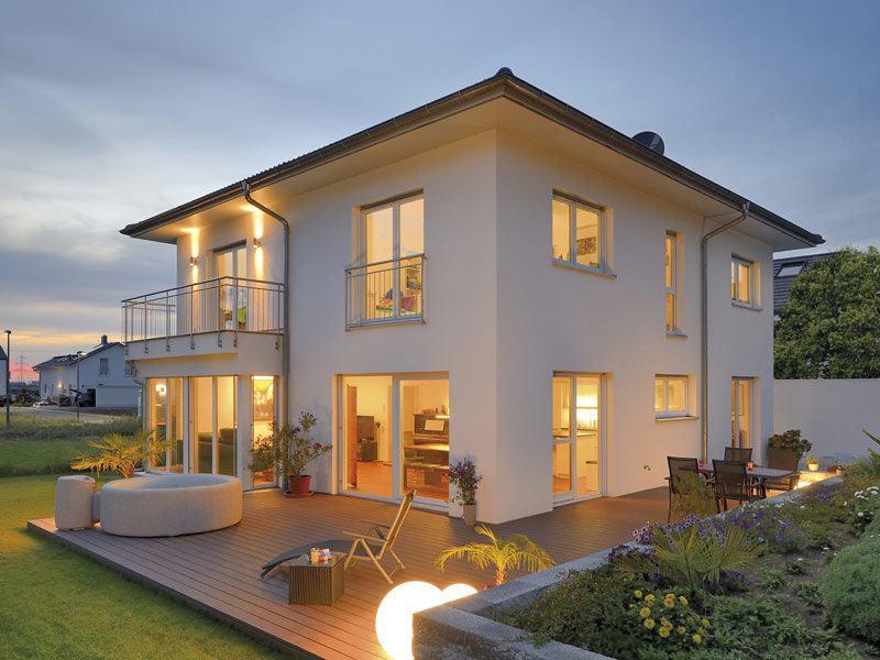 Haus Griffiths von Fertighaus Weiss -Terrasse