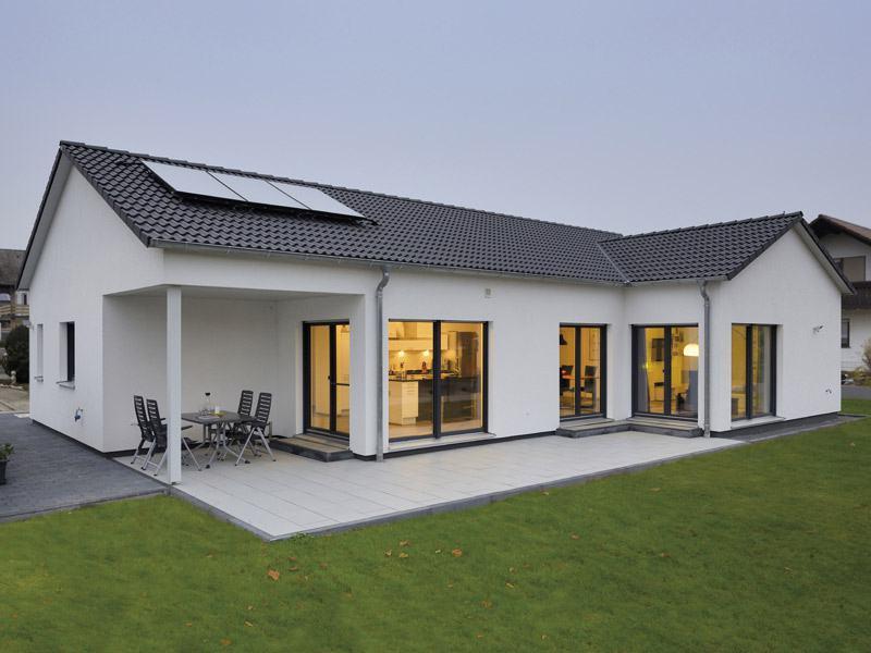 Haus Pauli von Fertighaus Weiss -Außen