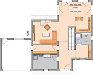 Kundenhaus Cono von Kern-Haus - EG