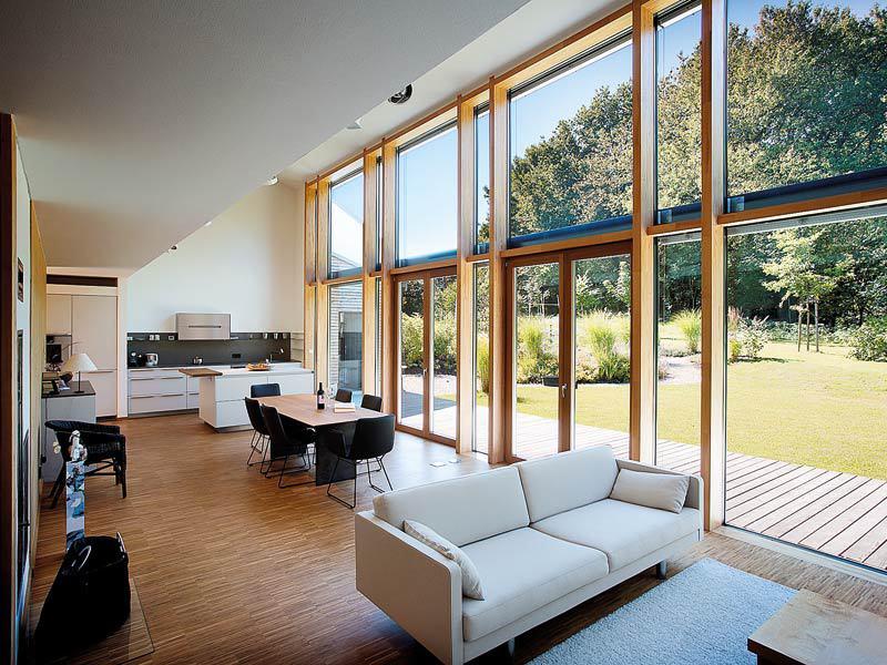 Fenster statt Fassade