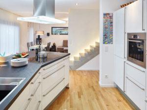 Pultdach 138 von Luxhaus. Küche