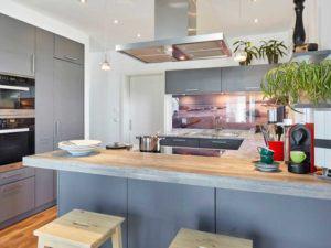 Walmdach 187 von Luxhaus - Küche